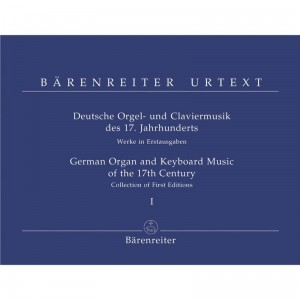 German Organ and Keyboard Music of the 17th Century Volume 1 - nuty na organy (fortepian)
