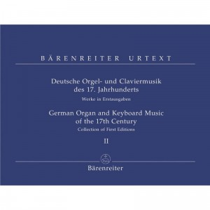 German Organ and Keyboard Music of the 17th Century Volume 2 - nuty na organy (fortepian)