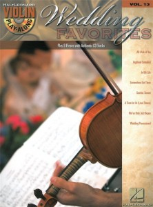 Wedding Favorites - Violin Play-Along Volume 13  (+ płyta CD) - nuty na skrzypce melodie weselne
