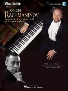 Rachmaninoff - Concerto No. 2 in C Minor, Op. 18 - nuty na fortepian (+ audio online)