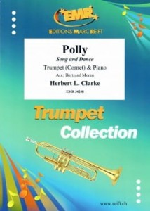Herbert L. Clarke: Polly - Song and Dance for Trumpet and Piano - nuty na trąbkę i fortepian