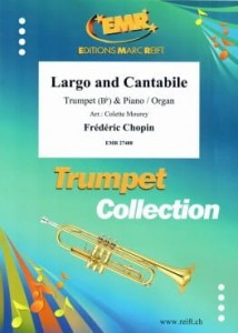 Chopin: Largo and Cantabile for Trumpet and Piano - nuty na trąbkę i fortepian