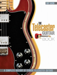 The Telecaster Guitar Book - A Complete History of Fender Telecaster Guitars - Tony Bacon - kompendium o gitarach elektrycznych Fender Telecaster - księgarnia muzyczna Alenuty.pl
