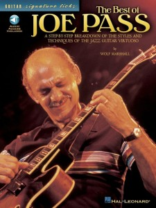 Guitar Signature Licks - The Best of Joe Pass (+ audio online) - nuty na gitarę elektryczną