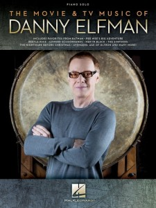 The Movie & TV Music of Danny Elfman - nuty na fortepian solo