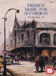 French Music For Accordion Volume 2 - Larry Hallar - nuty na akordeon