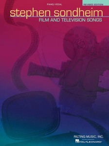 Stephen Sondheim: Film And Television Songs - na fortepian, melodia, teksty (PVG)