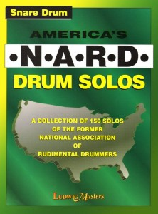 America's N.A.R.D. Drum Solos - 150 graded solos - szkoła na werbel