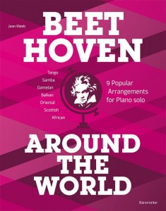 Beethoven Around the World - Kleeb - 9 Popular Arrangements for Piano solo - nuty na fortepian solo