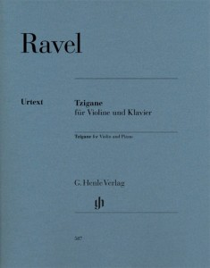 Ravel: Tzigane for Violin and Piano - nuty na skrzypce i fortepian