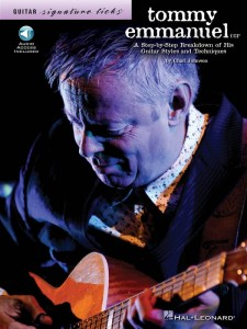 Guitar Signature Licks: Tommy Emmanuel (+ audio online) - nuty i tabulatury na gitarę