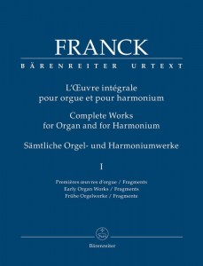 Cesar Franck: Complete Works for Organ and for Harmonium 1 - Early Organ Works / Fragments - nuty na organy