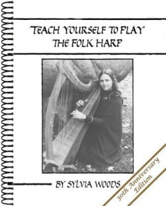 Sylvia Woods: Teach Yourself to Play the Folk Harp - podręcznik do nauki gry na harfie