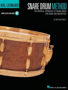 Hal Leonard Snare Drum Method - Rick Mattingly (+ audio online) - szkoła gry na werblu