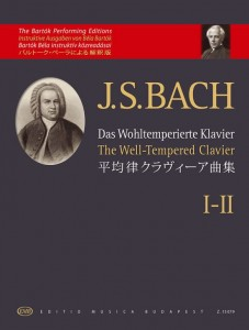 Bach J.S. - Das Wohltemperierte Klavier - The Well-Tempered Clavier I-II - The Bartok Performing Editions - nuty na fortepian (Bela Bartok)