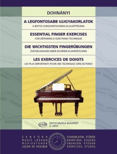 Dohnanyi: Essential Finger Exercises for obtaining a sure piano technique - ćwiczenia palcowe na fortepian