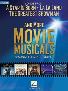 Songs from A Star Is Born, La La Land, The Greatest Showman and More Movie Musicals (Ukulele) - nuty na ukulele - księgarnia muzyczna Alenuty.pl