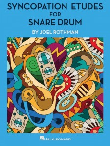 Joel Rothman: Syncopation Etudes for Snare Drum - etiudy na werbel