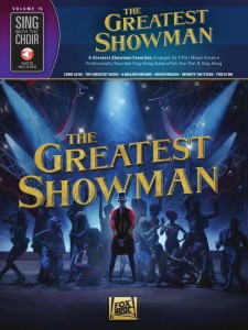 Sing With The Choir Volume 16: The Greatest Showman (+ audio online) - nuty na chór SATB