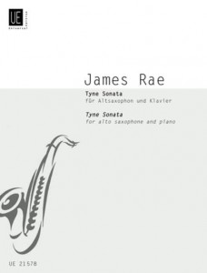 James Rae: Tyne Sonata for Alto Saxophone and Piano - nuty na saksofon altowy i fortepian