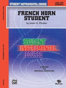 French Horn Student Level 2 Intermediate - Ployhar - szkoła gry na waltorni (rogu)