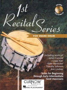 1st Recital Series for Snare Drum (+ płyta CD) - nuty na werbel