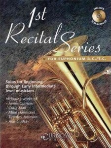 1st Recital Series for Euphonium B.C./T.C. (+ płyta CD) - nuty na eufonium