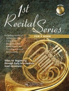 1st Recital Series for F Horn (+ płyta CD) - nuty na waltornię (róg)