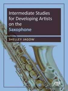 Intermediate Studies for Developing Artists on the Saxophone - Shelley Jagow - nuty na saksofon