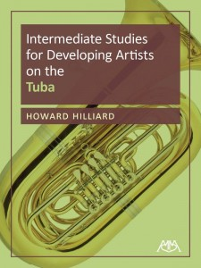 Intermediate Studies for Developing Artists on the Tuba - Howard Hilliard - nuty na tubę