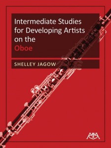 Intermediate Studies for Developing Artists on the Oboe - Shelley Jagow - nuty na obój