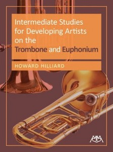Intermediate Studies for Developing Artists on the Trombone and Euphonium - Howard Hilliard - nuty na puzon lub eufonium