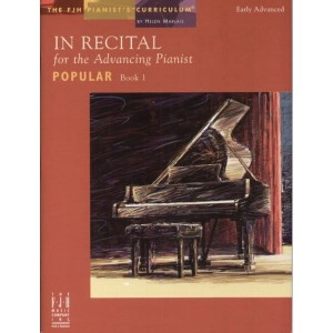 In Recital for the Advancing Pianist: Popular 1 - nuty na fortepian - Helen Marlais - księgarnia muzyczna Alenuty.pl