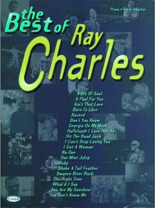 Ray Charles: The Best Of - na fortepian, melodia, akordy gitarowe, słowa