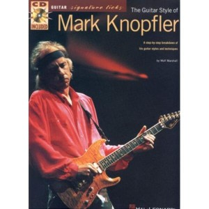 Guitar Signature Licks - The Guitar Style of Mark Knopfler - szkoła gry na gitarze (+ audio online)