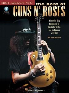 Guitar Signature Licks - The Best of Guns N' Roses - poradnik gitarzysty (+ audio online)