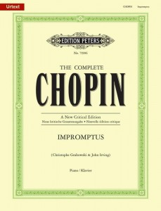 Chopin: Impromptus - nuty na fortepian