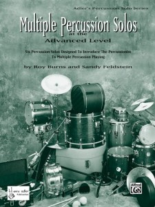 Multiple Percussion Solos at the Advanced Level - Burns, Feldstein - nuty na instrumenty perkusyjne