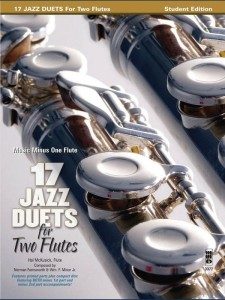 17 Jazz Duets for Two Flutes (+ płyta CD) - nuty na duety fletowe