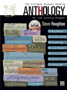 Steve Houghton: The Ultimate Drumset Reading Anthology For the Working Drummer (+ audio online) - podręcznik dla perkusistów