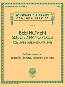 Beethoven: Selected Piano Pieces - Upper Intermediate Level - nuty na fortepian