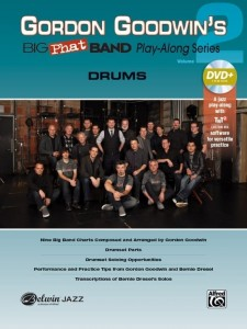 Gordon Goodwin's Big Phat Band Play-Along Series Volume 2: Drums (+ płyta DVD) - nuty na perkusję
