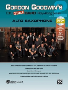 Gordon Goodwin's Big Phat Band Play-Along Series Volume 2: Alto Saxophone (+ płyta DVD) - nuty na saksofon altowy