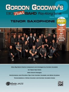 Gordon Goodwin's Big Phat Band Play-Along Series Volume 2: Tenor Saxophone (+ płyta DVD) - nuty na saksofon tenorowy