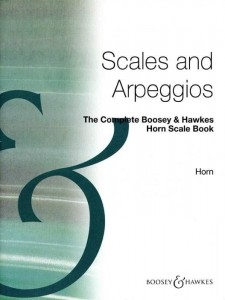 The Complete Boosey & Hawkes Horn Scale Book - gamy i pasaże na waltornię (róg)