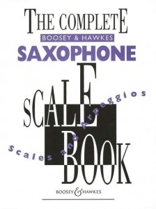 The Complete Boosey & Hawkes Saxophone Scale Book - gamy i pasaże na saksofon