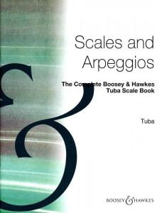 The Complete Boosey & Hawkes Tuba Scale Book - gamy i pasaże na tubę