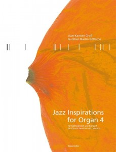 Jazz Inspirations for Organ 4 - nuty na organy