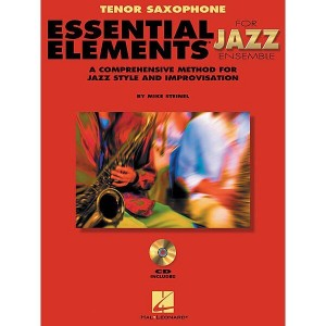 Essential Elements for Jazz Ensemble - B-flat Tenor Saxophone - Mike Steinel - nuty na saksofon tenorowy (+ audio online)