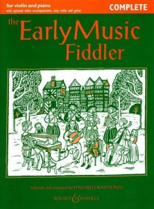 The Early Music Fiddler - Huws Jones - nuty na skrzypce i fortepian
